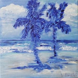 Blue Paradise. Veronica Hadjiyski