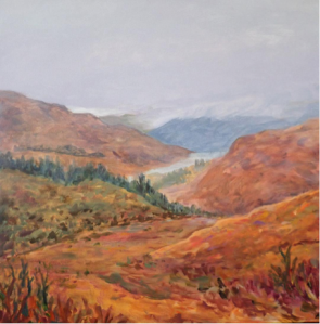 Golden Fields of West Highland Way, Angie Nagle Miller