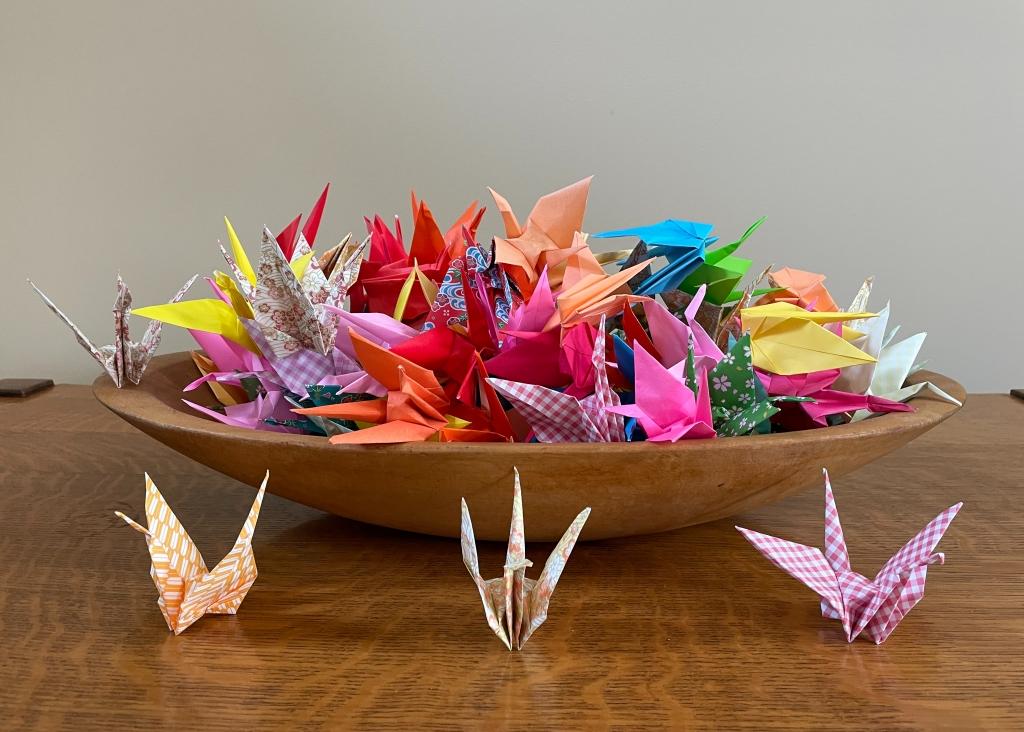 100 Cranes, Anita Baker-Blocker.